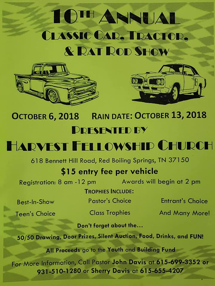 Upper Cumberland Car Shows